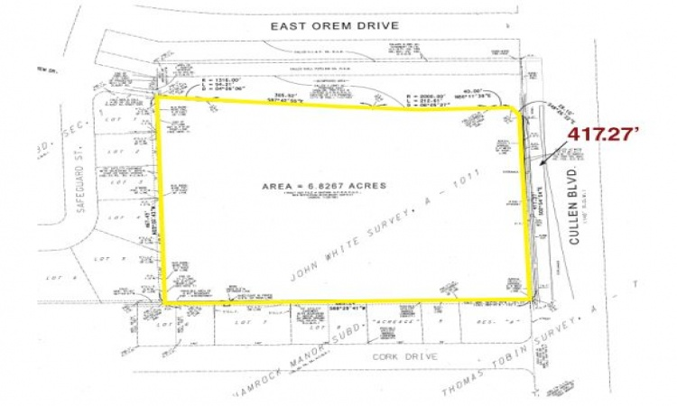 12602 Cullen Blvd, Houston, Texas 77047, ,Land,For Sale,Cullen ,1076