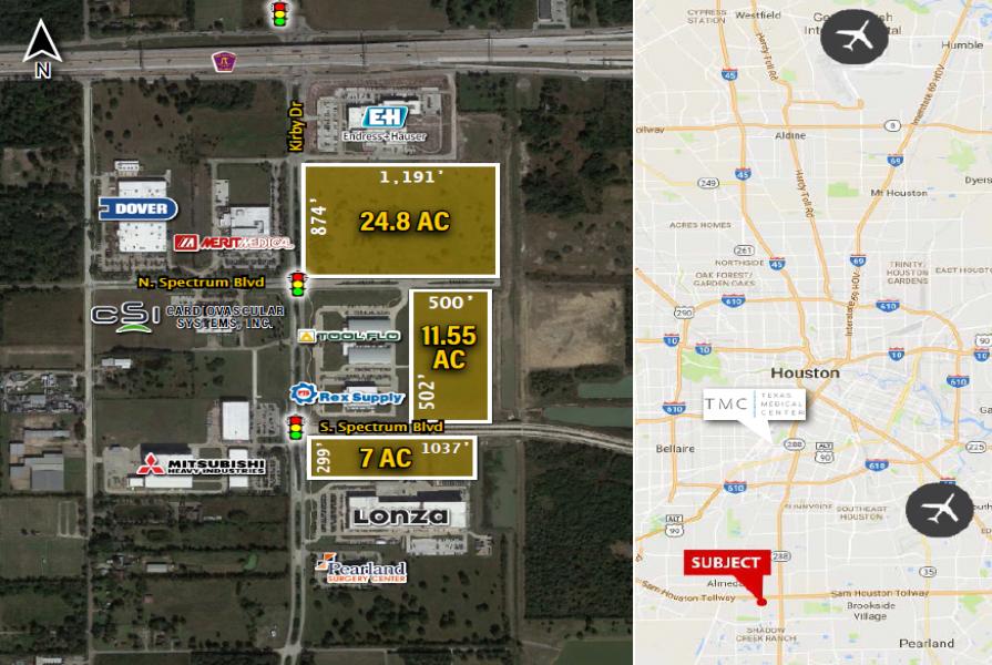 South Sam Houston E, Houston, Tx 77047